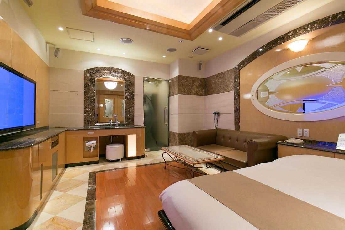 ホテルD-WAVEの客室